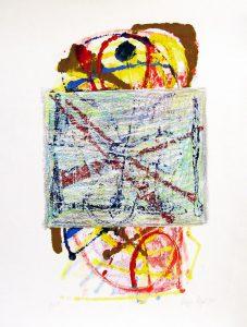 o.T.  | 1994 | 70 x 50 cm | Monotypie auf Bütten