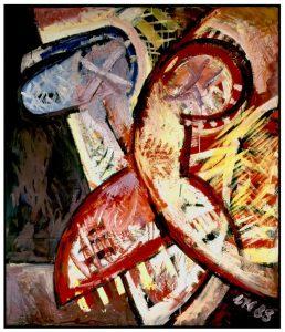 Vogelmaske | 1988