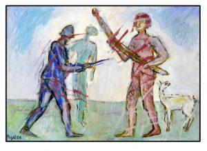 a.d.F. Krieg + Frieden: Der wilde Mann - Die Schimaere II | 2008