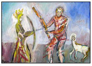 a.d.F. Krieg + Frieden: Der wilde Mann - Die Jungfrau | 2008