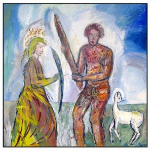 a.d.F. Krieg + Frieden: Der wilde Mann - Die Jungfrau II | 2008
